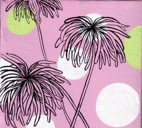 Hula flowers